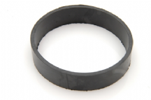 Rubber ring to protect suspension gaiter from ligarex strap